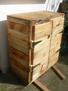 Bedroom Furniture Made Out Of Pallets pallet furniture. chest made from pallets. | palletts | pinterest