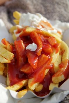 Pommes Rot-Weiss