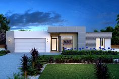 Gardner Homes - Custom Home Builders Modern House Facades, Modern House Plans, Modern Architecture, Flat Roof House, Facade House, House Front Design, Modern House Design, Casa Magnolia, Build Your Own House