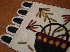 A large table mat for spring!
