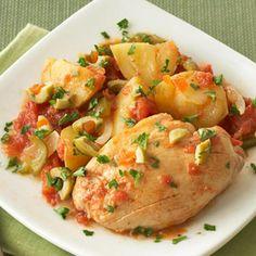 crockpot spicy chicken