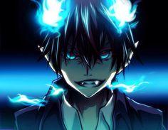 Anime Blue Exorcist  Rin Okumura Ao No Exorcist Papel de Parede