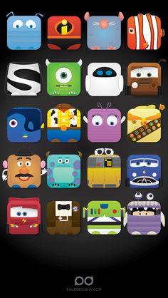 iPhone 5 Pixar Skin tjn