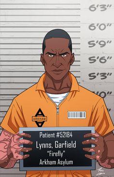 Garfield Lynns locked up by phil-cho.deviantart.com on @DeviantArt