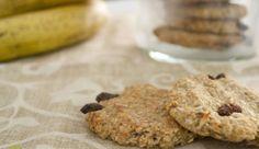 Μπισκότα με δύο (!!) υλικά, από την Διαιτολόγο -Διατροφολόγο Σταυρούλα Κρίκη και το Healthy cooking!