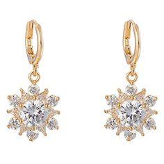 Femme plaqué or collier boucles d/'oreilles en cristal strass bijoux en/_fr