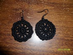 My Crazy Life: Tutorial Tuesday.. Motif earrings.. Free pattern!