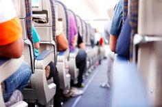Confused by airplane seat sizes? Our airline legroom guide for U. and Canadian airlines can help keep you from getting squeezed. Canadian Airlines, Major Airlines, Flying While Pregnant, Domestic Airlines, Travel Flights, Airplane Travel, Jet Lag, Cheap Flights, Packing Tips For Travel