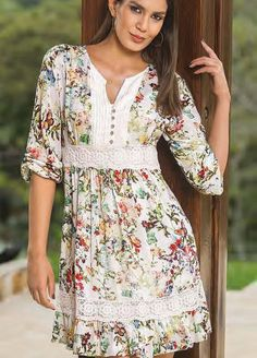 47 Spring Fashion Every Girl Should Try - Daily Fashion Outfits Simple Dresses, Casual Dresses, Summer Dresses, Modest Fashion, Fashion Dresses, Boho Dress, Designer Dresses, Ideias Fashion, Clothes For Women