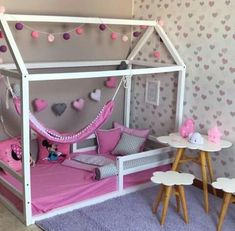 Make it feel at home and increase children's inspiration the best kids bunk design ideas # 1 39 Baby Bedroom, Baby Room Decor, Girls Bedroom, Bedroom Decor, Toddler Rooms, Toddler Bed, Big Girl Bedrooms, Girl Rooms, Daughters Room