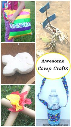 Awesome Camp Crafts for Kids from There's Just One Mommy