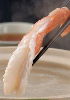 Kani-Shabu Crab shabushabu at Totoichi in Shizuoka