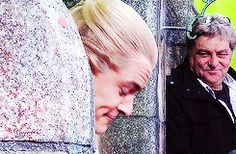 Legolas? What are you up to now? //// He's just making more of those faces that Thrandy ridiculed him about :) thats what i love about this lil perfect weirdo❤he is so cute😍