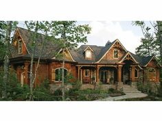 Eplans Craftsman House Plan - Perfect for Breathtaking View - 5662 Square Feet and 4 Bedrooms from Eplans - House Plan Code