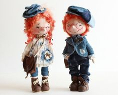 Очаровательные позитивные куколки Ирины Гуськовой  из Сухиничей