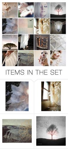"""""""""""Who can leap the world's ties  and sit with me among white clouds?"""""""" by artsdesireable ❤ liked on Polyvore featuring art"""