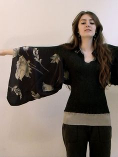 pants to sleeves upcycle