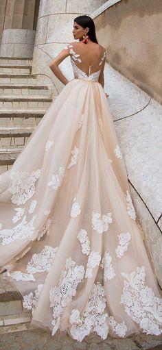 Wedding Dress by Milla Nova White Desire 2017 Bridal Collection - Delicia