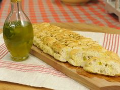 Sunny's Easy Basil and Garlic Oil recipe from Sunny Anderson via Food Network