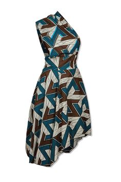 ASYMMETRIC DRESS  By YouMeWe    #AfricanFashion #MyAsho                                                                                                                                                      Mehr