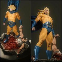 Marvel Sentry, Marvel Comic Character, Power Rangers, Art Reference, Marvel Comics, Sculpting, Action Figures, Concept Art, Sculptures