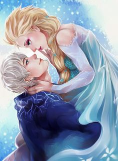 ✝☮✿★ DISNEY FROZEN ✝☯★☮  Jack & Elsa