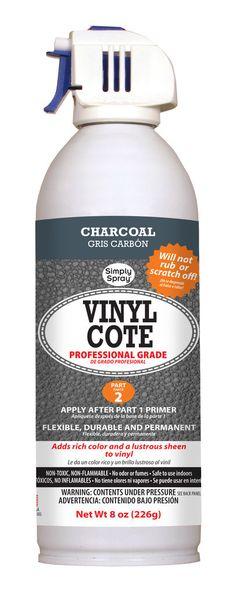 Charcoal Vinyl Cote