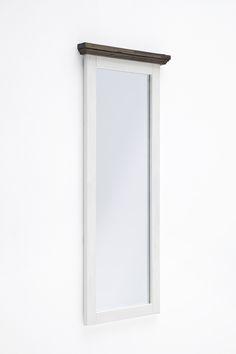 Garderobenspiegel Blance III Strukturweiß Passend zum Möbelprogramm Blance 1 x Garderobenspiegel Front: Akazie strukturweiß lackiert / massiv Korpus:... #flur #garderobe #spiegel