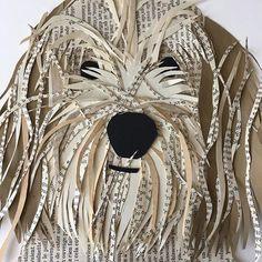 art projects for kids schools Denise Fiedler ( Paper Collage Art, Collage Artwork, Frida Art, Ecole Art, Book Crafts, Kids Crafts, Recycled Crafts, Art Club, Art Plastique