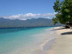 Beach on Gili Islands