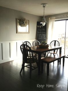 Keep Home Simple: Our Split Level Fixer Upper | House Project Ideas Dining Room Split Level Home Interior Design on dining room house, dining room office, dining room villa, dining room apartment, dining room floor, dining room condo, dining room fireplace,