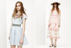 love these dresses...  Asos' spring lookbook has sprung and it's surf-inspired .