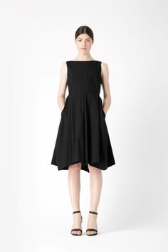 COS Panelled cotton dress (100% cotton, machine washable, €79.00, now €55.00) #dress #COS