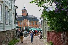 Old townhouse, Porvoo, Finland www.visitporvoo.fi