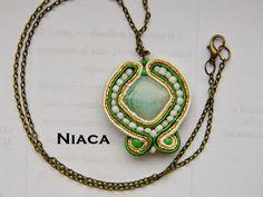 Niaca and Vision Handmade Pendant Necklace, Handmade, Jewelry, Jewellery Making, Jewelery, Jewlery, Jewels, Jewerly, Hand Made