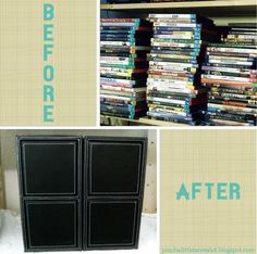 Pinch A Little Save-A-Lot: Media Storage + Free Inventory Printable