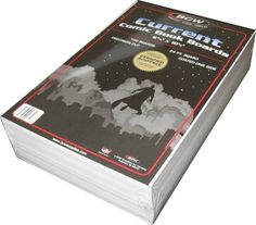 Current Comic Book Backing Boards - 100 Count - For organizing fabric in your sewing room!