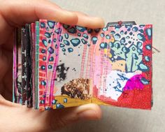 mini journals by artist Roxanne Coble (aka BY BUN)