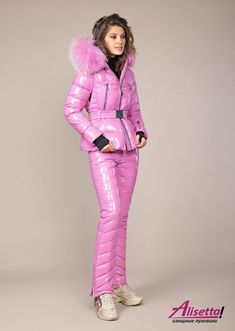 Warm Outfits, Winter Outfits, Ski Outfits, Women's Puffer Coats, Down Suit, Winter Suit, Womens Wetsuit, Jackets For Women, Clothes For Women