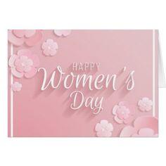 Shop Happy Women's Day Card created by StoreElida.