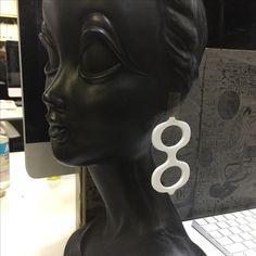 60's image handmade accesory  by Swinging London and The Freedom⇆   60'sアクセサリー ハンドメイドアクセサリー 60'sピアス