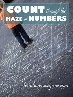 This would be a good way for kids to learn what numbers come after others. It's good because it's a game too. Kids have to get out of the maze. 7812