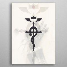 Alchemist symbol by Geisom Arana Wall Art Prints, Canvas Prints, Alchemist, Canvas Art, Wall Decor, Symbols, Posters, Fine Art, Metal