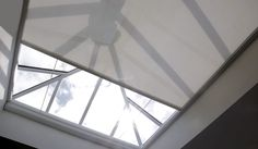 Electric Roof Lantern and Skylight Blinds supplied and fitted to homes in Hampshire, Surrey, West Sussex and parts of London. Wireless and Hardwired.
