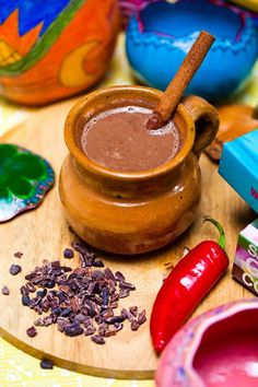 Hot chocolate the way the Mayan's used to make it from Hemsley & Hemsley