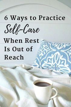 Try these self-care practices when you find yourself stuck in a season of too much, too fast — when real rest is out of reach, but you need some restoration all the same.