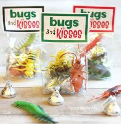 bugs and kisses valentine
