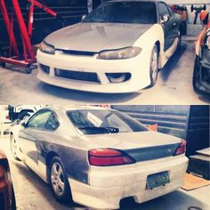 Selling our project car! A Nissan S15 with Cagayan plates, NO Engine, transmission, ECU or wiring. Comes with a vertex kit, FMIC, full interior. The rear fenders have been cut already for a widebody kit. This is a rolling chassis ready for any engine transplant! - Feb. 19, 2014 #carpornracing #projectcar #nissan #S15