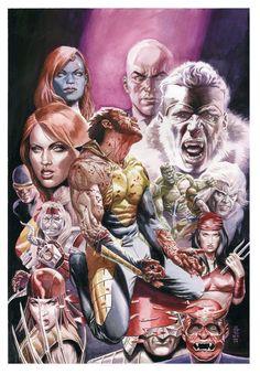 Death of Wolverine cover by JG Jones