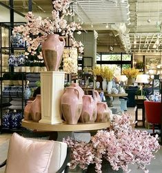 Being a designer for over 20 years I frequently source from Ballard Designs . the great brand started by Helen Ballard Weeks in Ginger Jar Lamp, Ginger Jars, Little Elm, Ballard Designs, Luxury Living, Blue And White, Table Decorations, White Pitchers, Copycat
